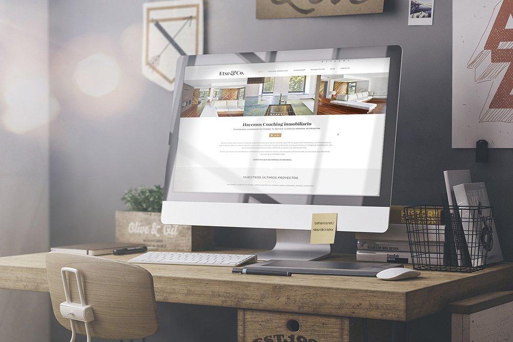nueva página web de etxe&co