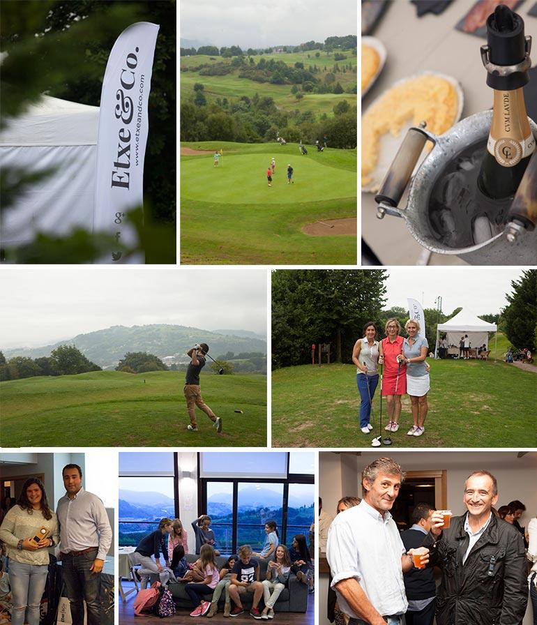 resumen fotografico del torneo de golf en basozabal