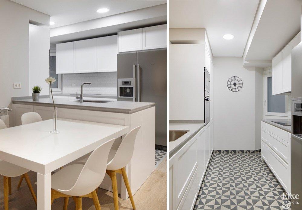 reforma de cocina en vivienda