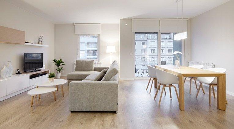 reforma integral de vivienda en el barrio de amara