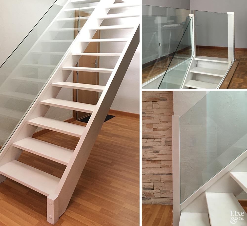 Detalles de la rehabilitacion de la escalera