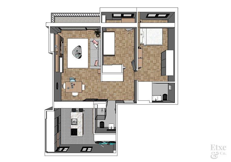 propuesta de reforma del proyecto de vivienda de zumalakarregi
