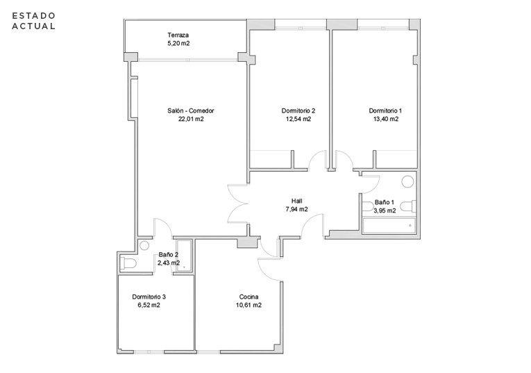 situación actual de la vivienda de zumalakarregi de san sebastián