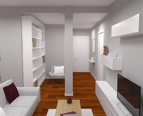 reforma integral en vivienda en san sebastian