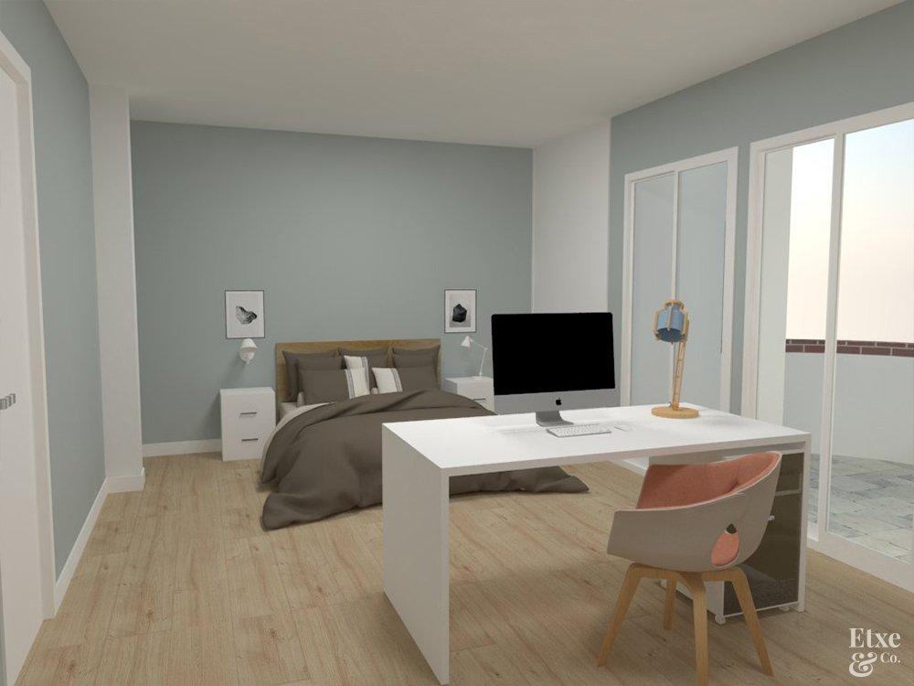 reforma semi integral en una vivienda en intxaurrondo en obras