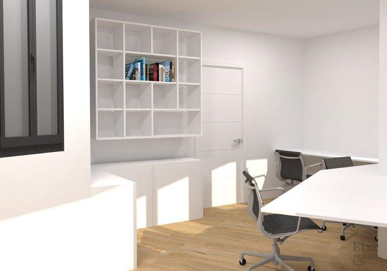 oficina en la reforma vivienda barrio gros estado reformado