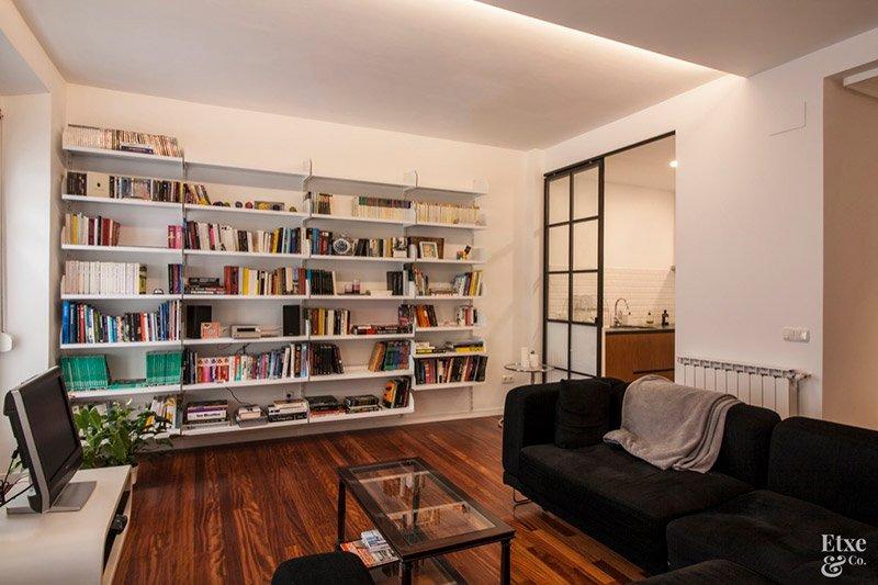 sala de estar tras la reforma