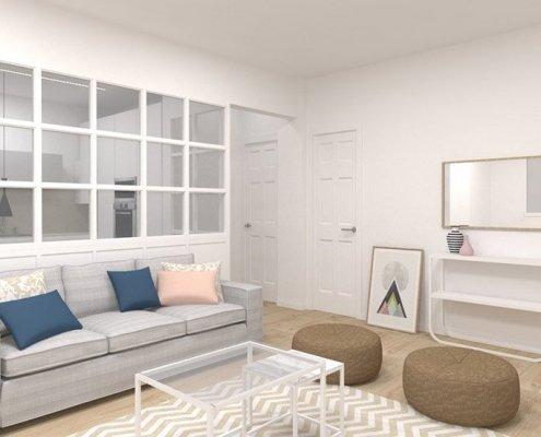proyecto reforma integral vivienda parte vieja san sebastian