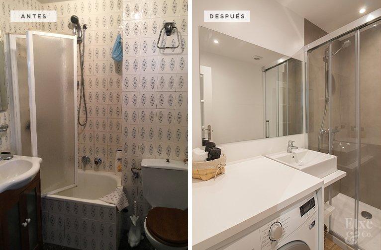 Los muebles, los materiales del baño y los colores son de gama clara, con el objetivo de mantener una sensación amplia, espaciosa y luminosa en toda la casa.