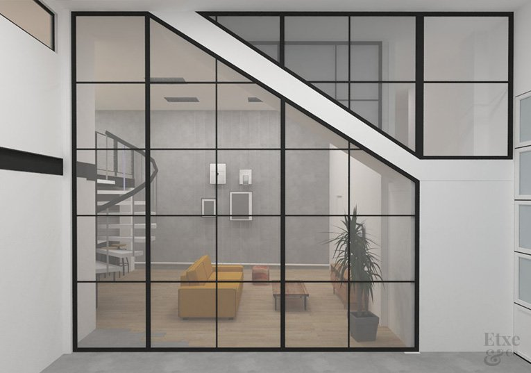 transformación de un garaje en vivienda