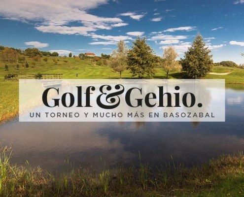 Nueva edición del Golf & Gehio en Basozabal