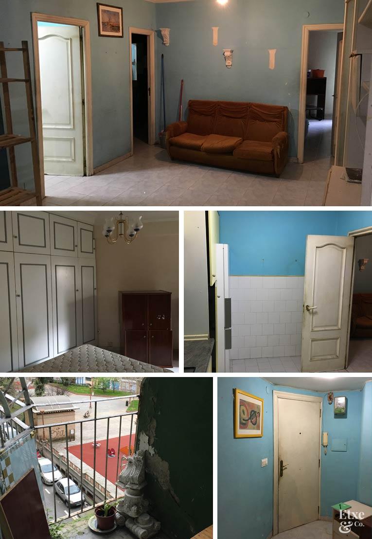Fotos del estado de la casa antes de las obras
