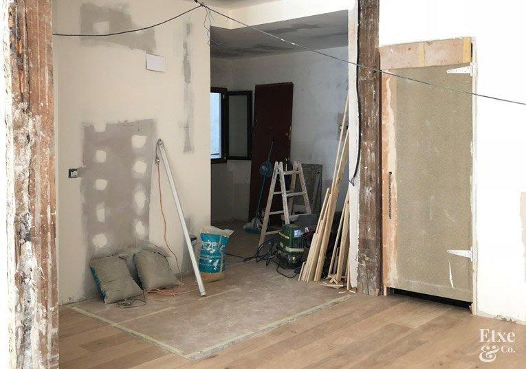 Obras en vivienda de Easo
