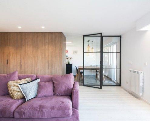Salon en vivienda de Bera Bera