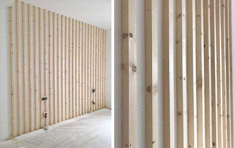 Muebles hechos por Etxe and Co, reconversión de una puerta en un cabecero muy original y único
