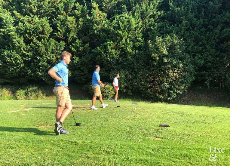 Torneo infantil de golf