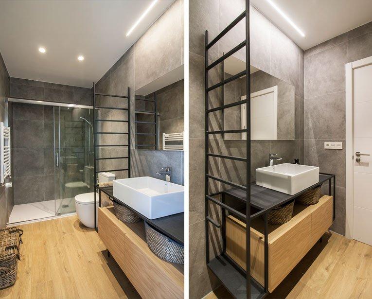 Reforma integral cuarto de baño en Donostia