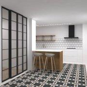 Cocina reformada en apartamento de paseo Berio, Donostia