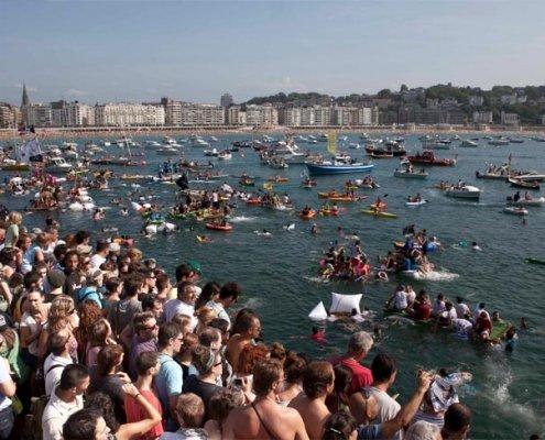 Vacaciones en Etxe and Co y Semana Grande en Donostia