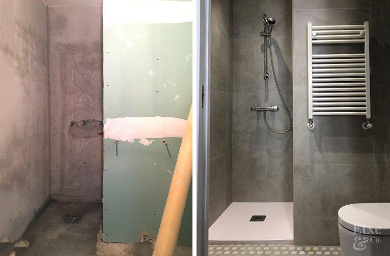 Reforma Integral en cuarto de baño