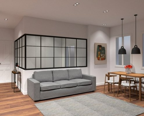 Reforma integral vivienda San Francisco