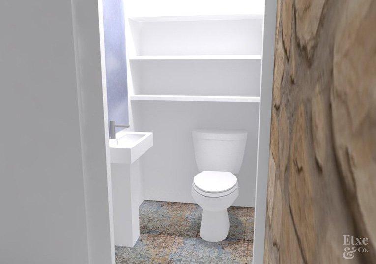 vivienda juan de garay propuesta baño
