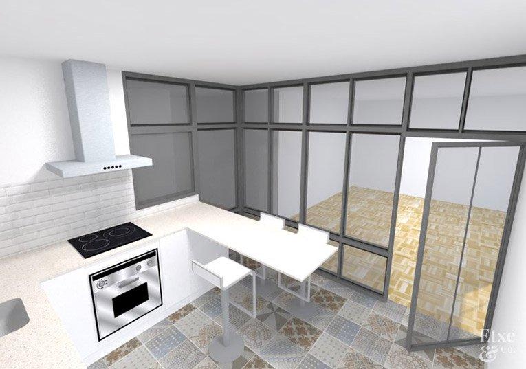 vivienda juan de garay propuesta cocina