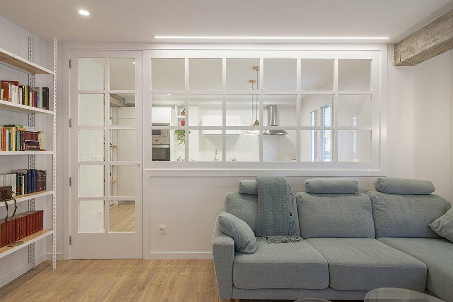Cómo convertir un piso antiguo de 60 metros en una casa de diseño.
