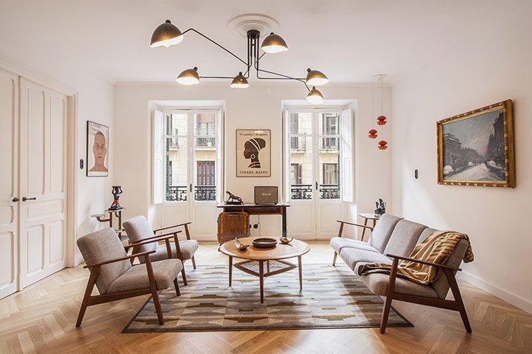 espacios diáfanos en la reforma de una casa
