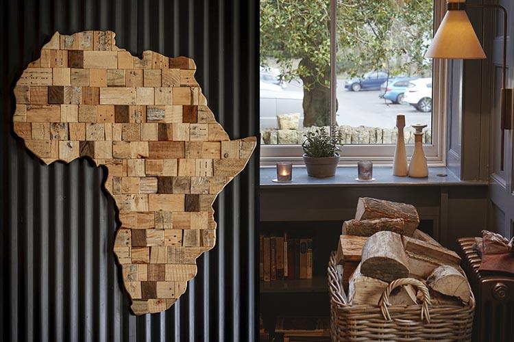 la madera en casa